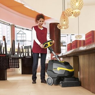Karcher Scrubber Dryer 350mm - Small Pedestrian